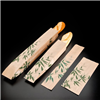 250 Sachets Baguette 9 + 3.5 x 35 cm Feel Green